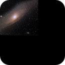 Core of M31 with Atik 314L+ OSC on 8/3/2014,                                rigel123