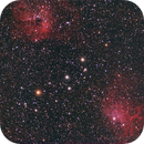 Flaming Star and IC410,                                Michael_Xyntaris