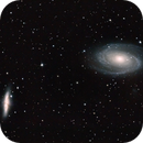 Bode and Cigar galaxy - M81 & M82,                                Gendra