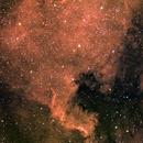 North America Nebula in RGB-Ha,                                stevebryson
