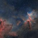 Center of the Heart Nebula (IC 1805),                                Fred Boucher