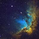 NGC 7380 •The Wizard Nebula in SHO,                                Douglas J Struble