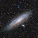 M31 with Omegon MiniTrack LX2,                                Robert Eder