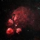 NGC 6334 Cat's Paw Nebula,                                DavidLJ