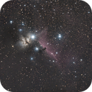 *wide field, click to expand* M78 to The Great Orion Nebula,                                gturgeon