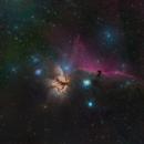 IC434 - Horsehead nebula,                                Dagolaf