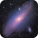 Messier 31, The Andromeda Galaxy,                                rveregin