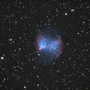 M27 Dumbbell Nebula,                                Robin Clark - EAA imager