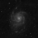 M101 - ASI178MM first light - Only 34mn subs,                                Harold Freckhaus