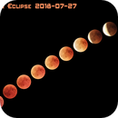 Phases of the Lunar Eclipse 2018-07-27,                                star-watcher.ch