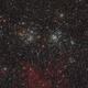 NGC 884 & NGC 869 - h&chi Double Cluster (HaLRGB),                                Frank Breslawski