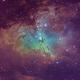Reaching for eternity: The pillars of creation M16,                                EventHorizon