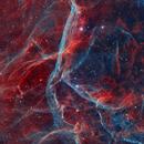 Vela Supernova Remnants, (RGB stars),                                Christian_Hilbert