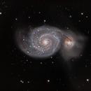 M51 Whirlpool Galaxy,                                Stelios_Stergiou