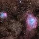 M8 & M20 wide field,                                Coenie