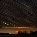 Startrail with Moonset,                                HBAstropicsel
