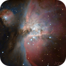 M42 Great Orion Nebula,                                John Travis