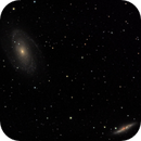 M81 and M82 - LRGB - Evoguide ED50,                                altazastro
