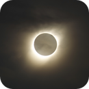 Total Solar Eclipse  with a few clouds - 02-07-19,                                Ariel Cappelletti