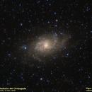 Triangulum Galaxy,                                José J. Chambó