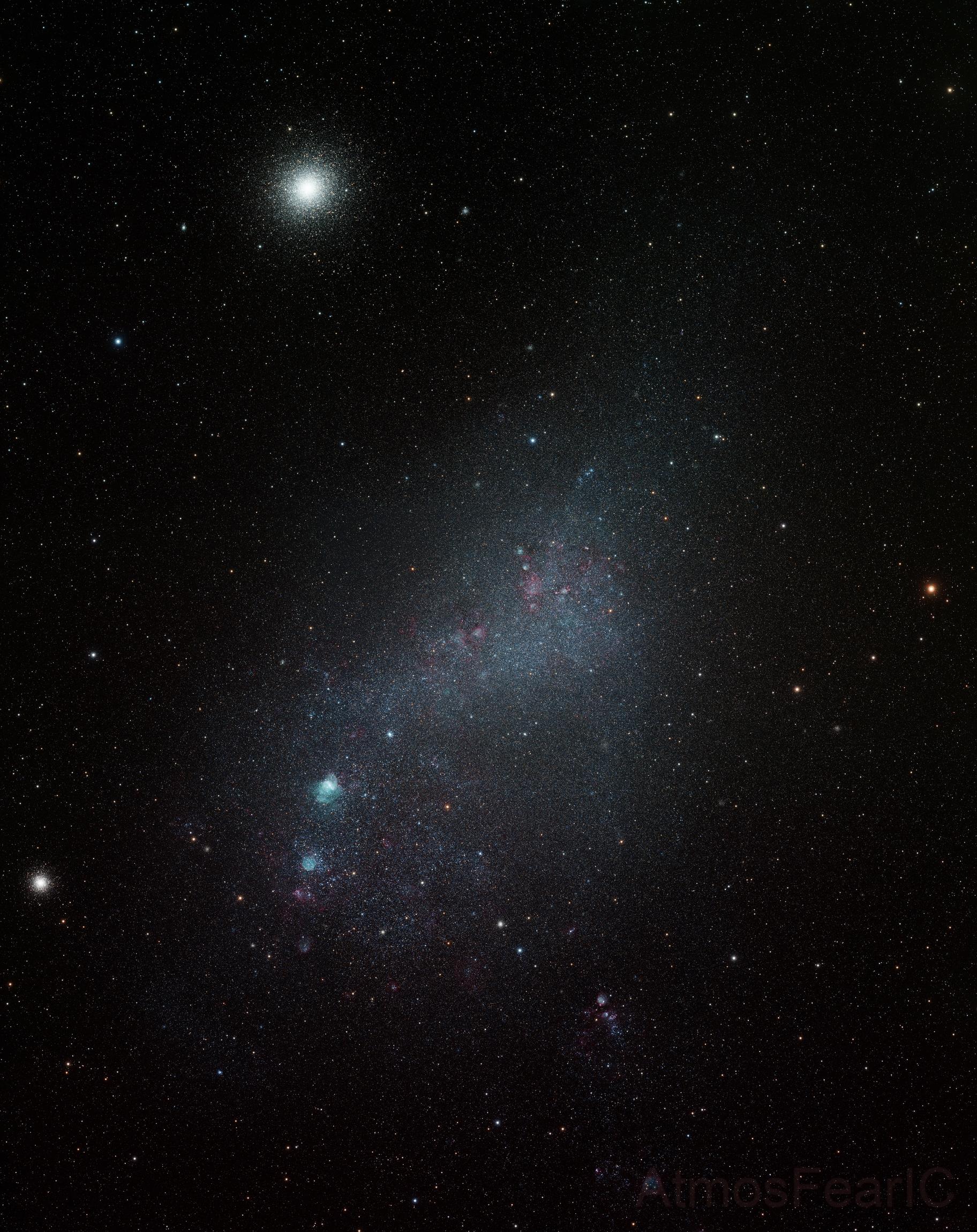 Small Magellanic Cloud,                                Colin