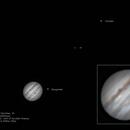 Jupiter, Moons and GRS,                                Robert Van Vugt