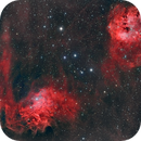 IC410+ IC405 in Aur,                                Federico Bossi