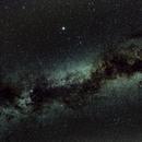 Cygnus in the Milky Way,                                Mark Scrivener