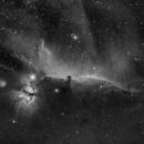 Barnard 33 - The Horsehead Nebula in HA,                                Mason Guinan
