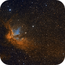 The Wizard Nebula in Narrow Band,                                flyingairedale