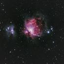 M42 - Orion Nebula and NGC 1977 - Running Man,                                Marc Mantha