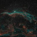 West Veil Nebula -- Witch's Broom,                                Comatater