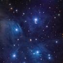 M45-Pleiades,                                samlising