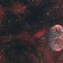NGC 6888 and Soap Bubble Nebula in HOO, T150 f/5  /  ATIK ONE  /  AZEQ5,                                Pulsar59