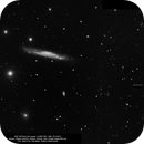 NGC 3079 and twin Quasar Q0957+561,                                Rauno Päivinen
