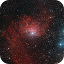 IC 405 Flaming Star,                                Alan Brunelle