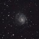 M101 Pinwheel Galaxy,                                Amra