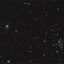 Comet C/2013 X1 (PanSTARRS) passing Messier 34,                                Tony Cook