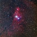 Cone Nebula NGC 2264,                                David Nguyen