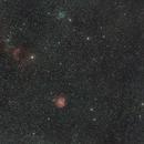 Monkeyhead nebula & M35 widefield,                                Janos Barabas