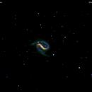 ngc7479 galassia in pegaso                                                                          distanza 105 milioni  A.L.,                                Carlo Colombo