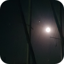 Mond, Jupiter und Saturn in der Marina Mörbisch,                                nonsens2