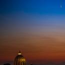 Comet Neowise above San Pietro,                                Giulio