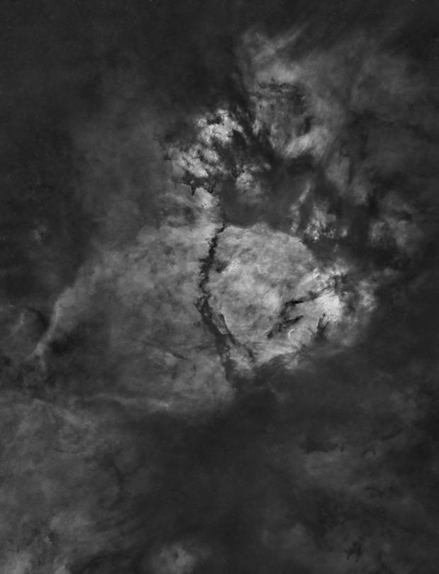 IC 1795 - The Fishhead Nebula (Starless Version),                                Frank Breslawski