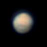 Mars on January 27, 2020,                                Chappel Astro