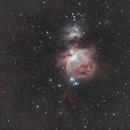 M 42 - grande nébuleuse d'Orion,                                Gérard Nonnez