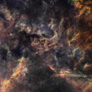 Cygnus - LBN292 Wide-field,                                John Ebersole