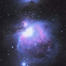 Orion Nebula  M42 ATIK 428 EX Mono +Canon 60D,                                Andres Noriega
