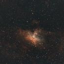 M16 Eagle Nebula-SHO,                                Adel Kildeev