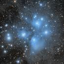M45 - Pleiades,                                Bill Long
